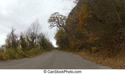 trip along the old road, GoPro