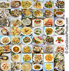 Different cooked dishes - Different delicious cooked dishes