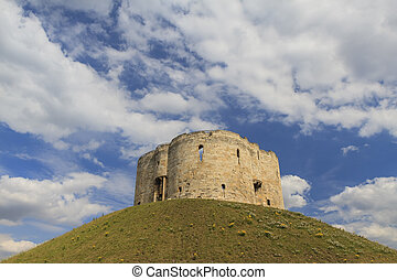 The famous Clifford's Tower, York - The famous Clifford's...