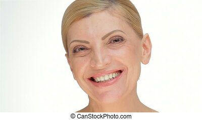 Beauty middle-aged women. Portrait of beautiful Middle-aged...