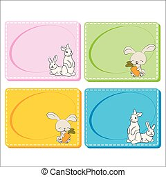 0116_30 frames cards - Assorted Baby Cards with a window...