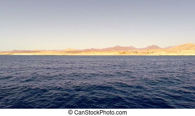 View of Red Sea and coastline Egypt, Africa - View of Red...
