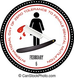 Stamp Female Genital Mutilation - Stamp International Day of...