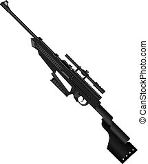 Junior Sniper Rifle - Light sniper rifle for training and...