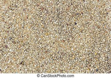 Brown gravel floor texture