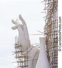 Under Construction Guan Yin (Pusa) Statue - Under...