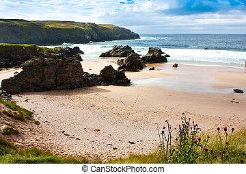 Durness Beach - Scotland - Award winning Durness spectacular...