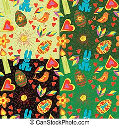 Seamless pattern Easter.