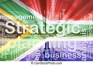 Flag of South Africa wavy planning - Flag of South Africa,...