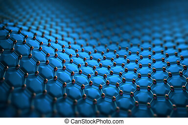 Abstract Hexagonal Structure - Abstract background hexagonal...