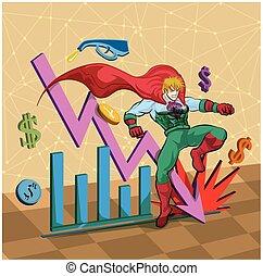 hero to stock economy