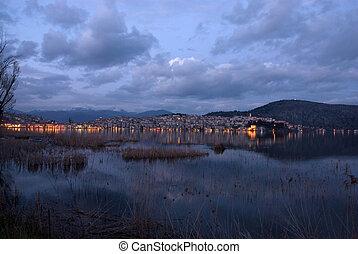 Cityscape of Castoria