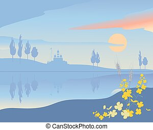 abstract punjab - a vector illustration in eps 10 format of...
