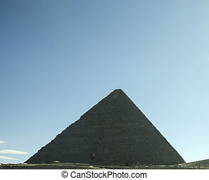 Pyramid of Cheops in Egypt - Pyramid of Cheops in Giza,...