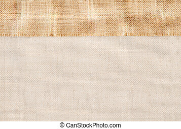 Sackcloth burlap texture, cloth background