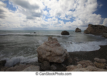 Cyprus the birthplace of Aphrodite Seaview