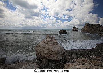 Chipre, el, Lugar de nacimiento, de, Aphrodite., ,