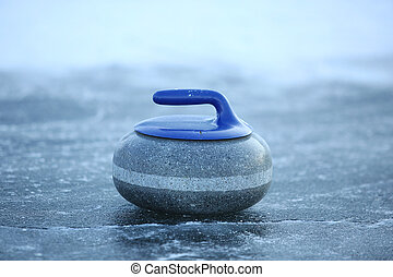 granite stones for curling on ice