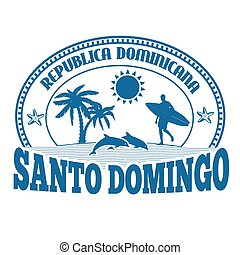 Santo Domingo stamp or label - Santo Domingo, Dominican...
