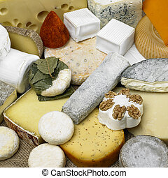 cheese still life