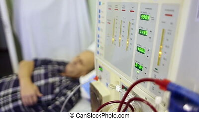 Medical equipment Hemodialysis machine - Hemodialysis...