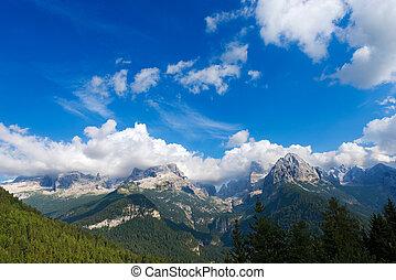 Dolomiti di Brenta - Trentino Italy - Brenta Dolomites, west...