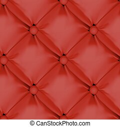 Red Seamless  Leather Upholstery Pattern