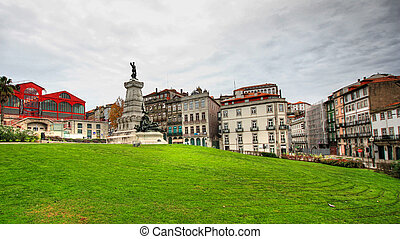 Portugal - Porto - beautiful view in the center of Porto