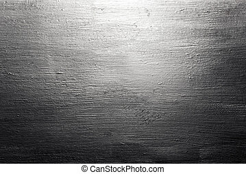 Scratched brushed metal texture - Industrial background from...