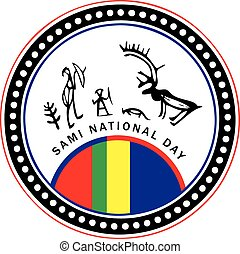 Sami National Day - Symbol of the February celebration of...