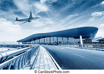 Airport Terminal - China Nanchang Airport T2 location