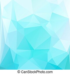light blue background - Polygonal abstract background with...