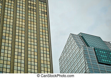 Corporate building - High rise corporate building with a...