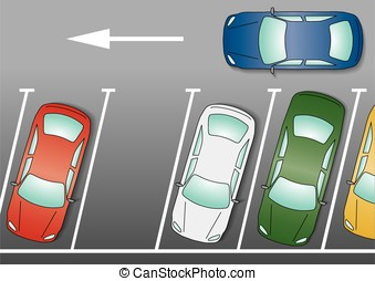 Car parking Vector Clipart EPS Images. 9,539 Car parking ...