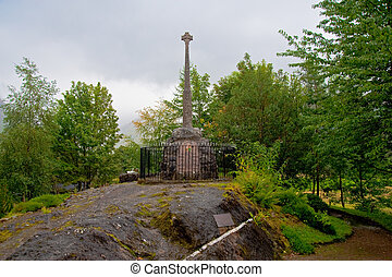 MacDonald Monument, Glencoe Village - Massacre Of Glencoe...