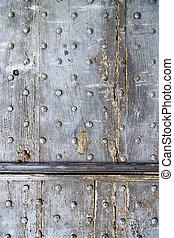 lombardy arsago seprio rusty brass door curch closed cross -...