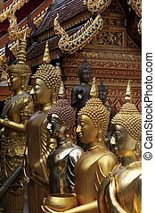 ASIA THAILAND CHIANG WAT DOI SUTHEP - the Wat Phra That Doi...