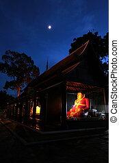 ASIA THAILAND CHIANG MAI WAT CHEDI LUANG - the Wat Chedi...