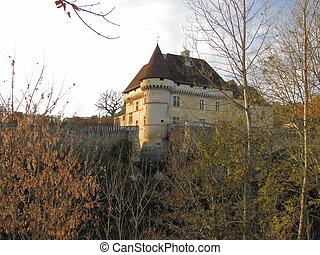 Castle, Losse, Valley Vezere - Valley of Vezere ; Black...