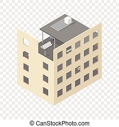 New isometric house under construction