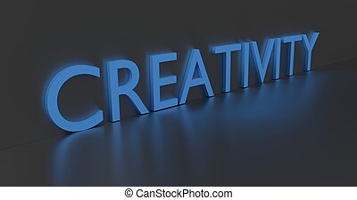 Creativity Word