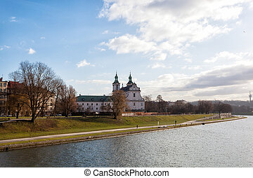 Krakow,Church of St Michael the Archangel and St Stanislaus...
