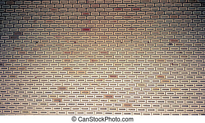 Vintage Red brick old wall background