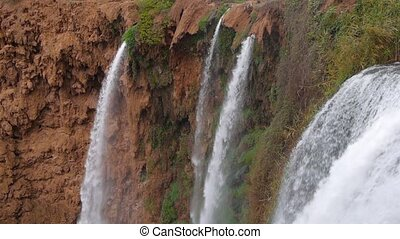 Ouzoud waterfall in Morocco Atlas mountains