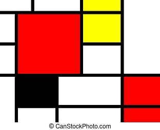 Abstract background - Abstract color background in black red...
