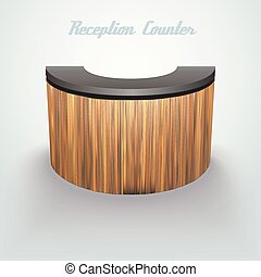 business reception counter