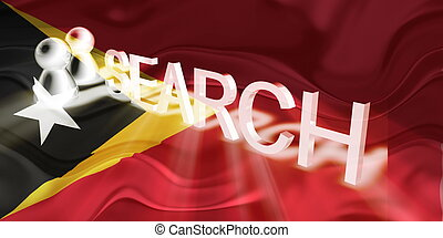 Flag of Timor-Leste wavy search - Flag of Timor-Leste,...