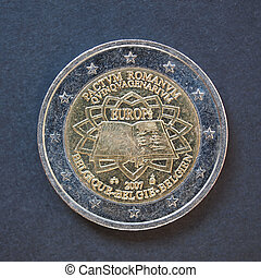 2 Euro coin from Belgium - Commemorative 2 Euro coin Belgium...