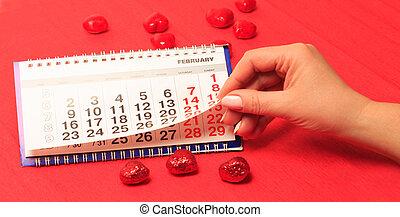 datum, februar,  14, Kalender
