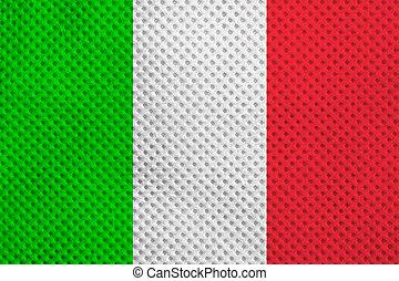 Italian flag - The national Italian flag of Italy IT